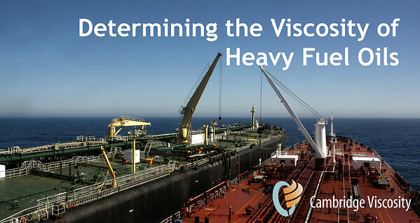 Viscosity is an important parameter in marine fuel