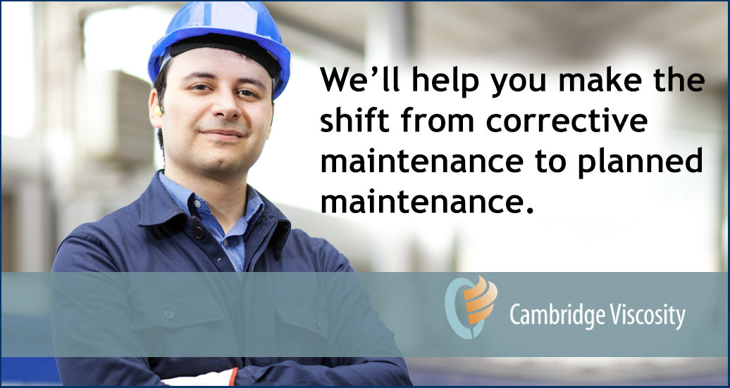 Man in a hard hat - promo for service contract