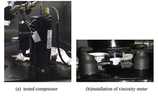 Installation of Viscometer