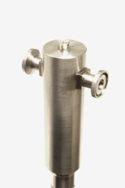 flow-thru sanitary viscometer