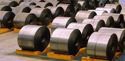 coated steel coils
